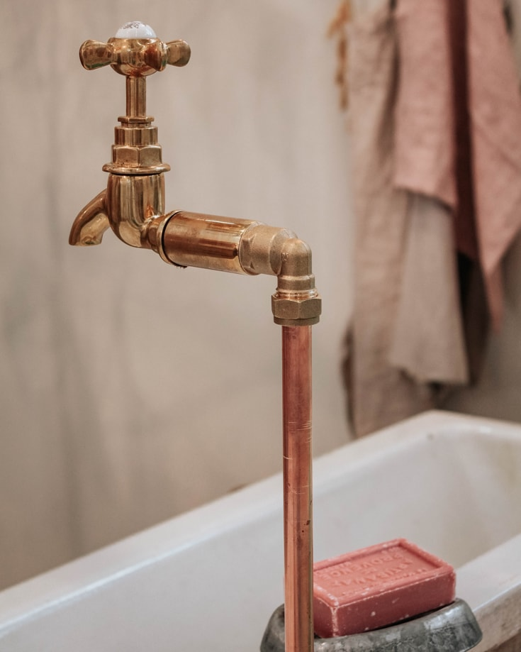 a tap and sink