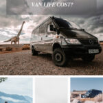 How much does van life cost on Pinterest