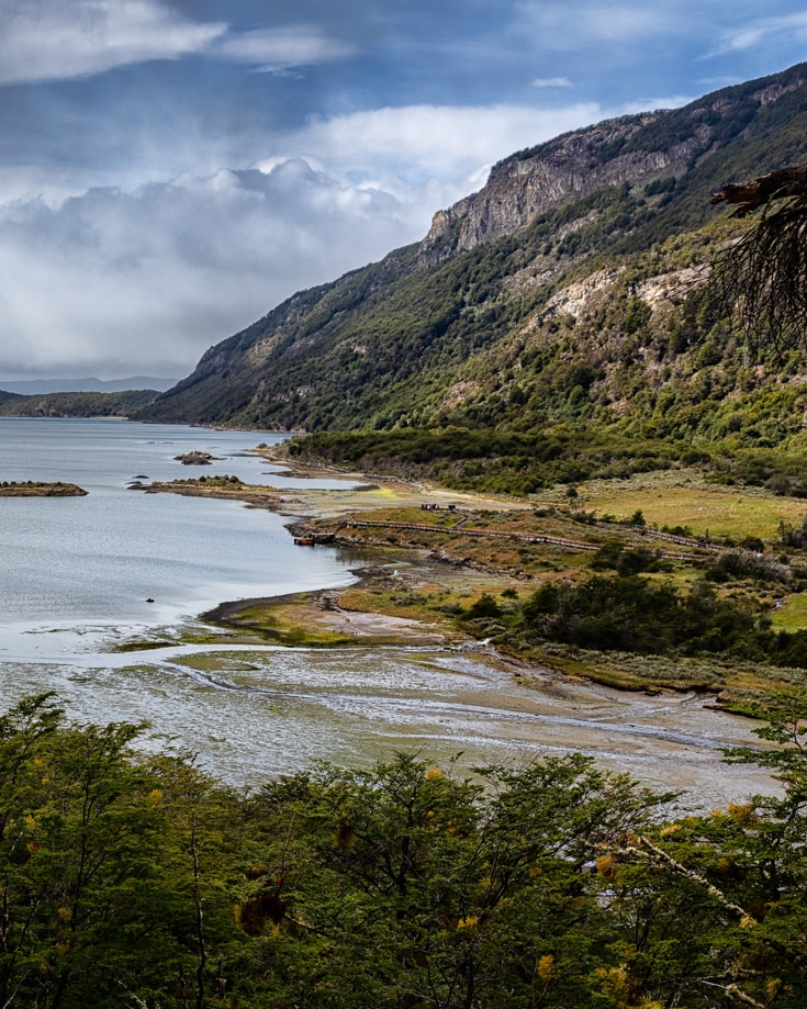 Views from Tierra del Fuego National Park hiking trails
