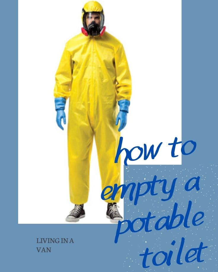 Pin image for how to empty a portable toilet