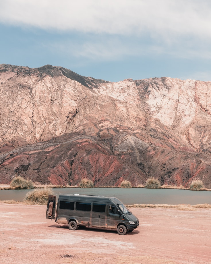 Living the dream van life and travelling in Bolivia