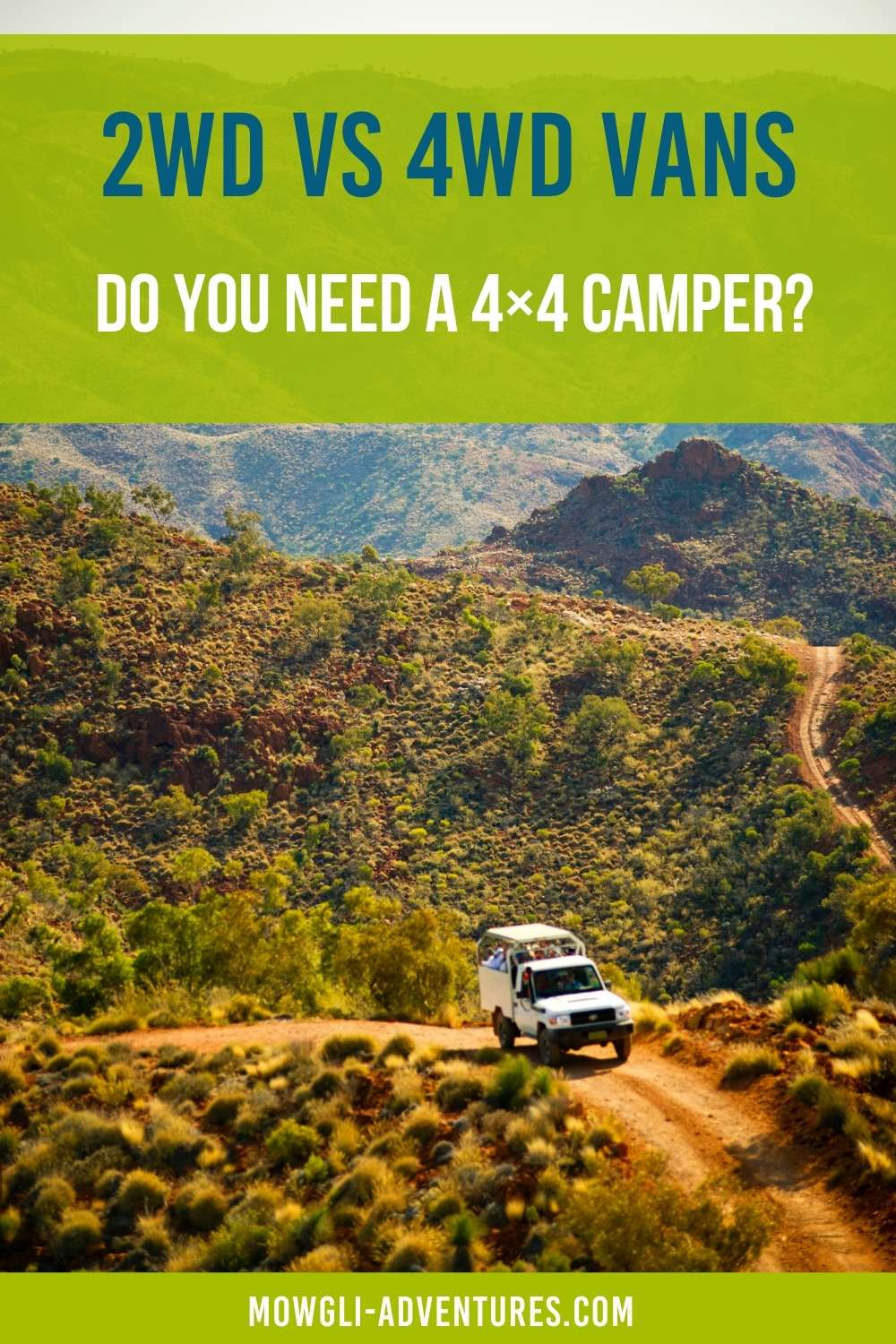 2wd vs 4wd - Do you need a 4x4 camper
