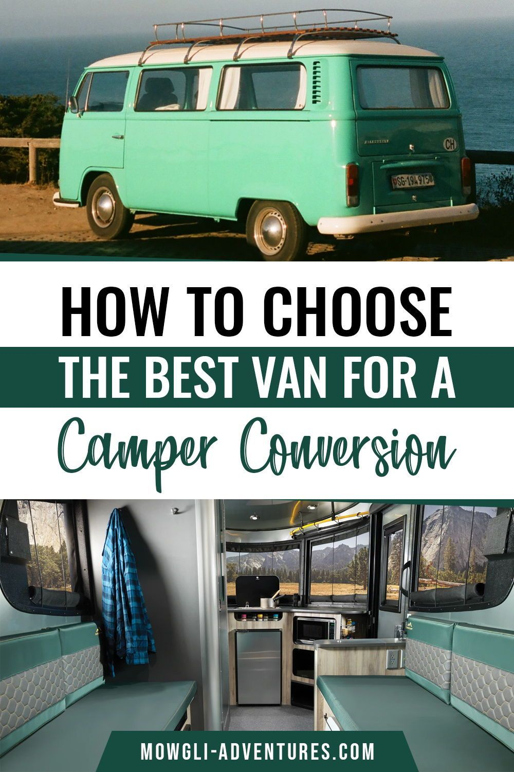 Best van for a camper conversion _ How to choose the best van to live in