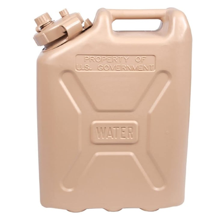 Fresh water jerry can product photo