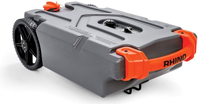 Portable black tank product photo