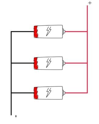 3 campervan batteries parallel wiring diagram