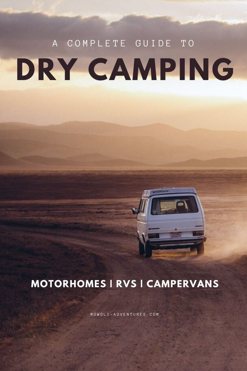 Wild camping for motorhomes | A dry camping & boondocking ...