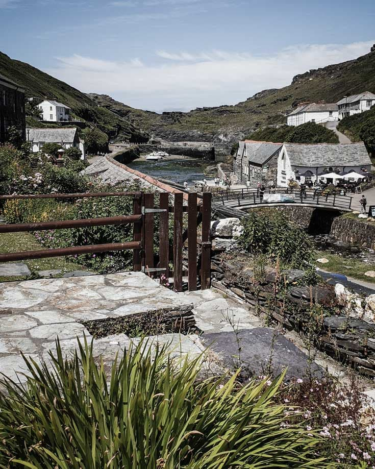 Boscastle village Cornwall