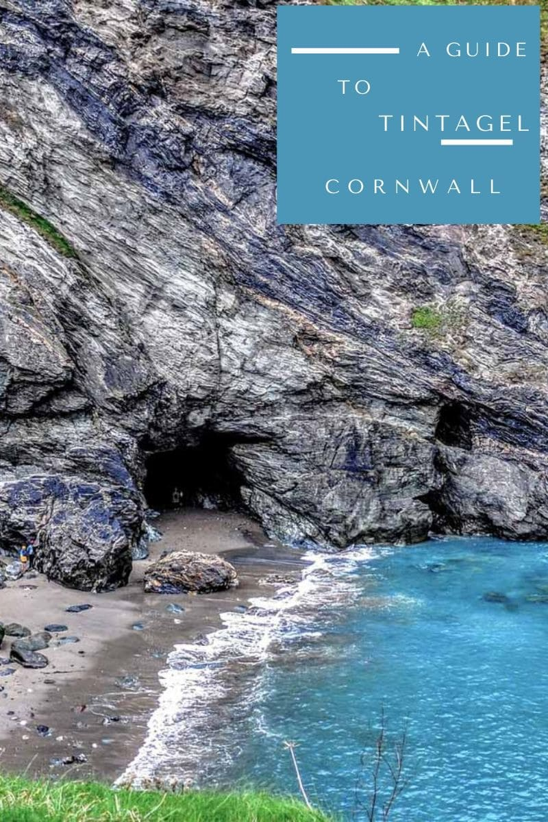 Pin image for things to do in Tintagel Cornwall England