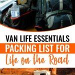 Van life essentials _ A complete campervan packing list