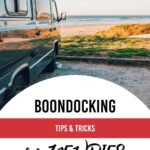 Wild camping for motorhomes _ A dry camping & boondocking guide