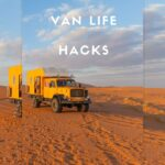 Pin image for van life hacks