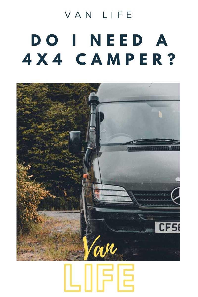 Pin image for 2wd v 4wd camper vans