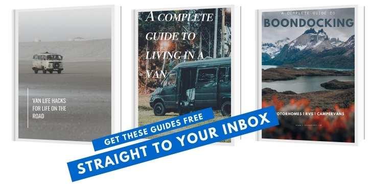 Free van living starter pack