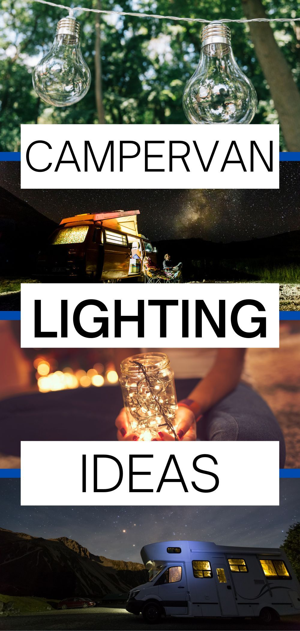 The Best Camper Lighting Ideas for your Conversion