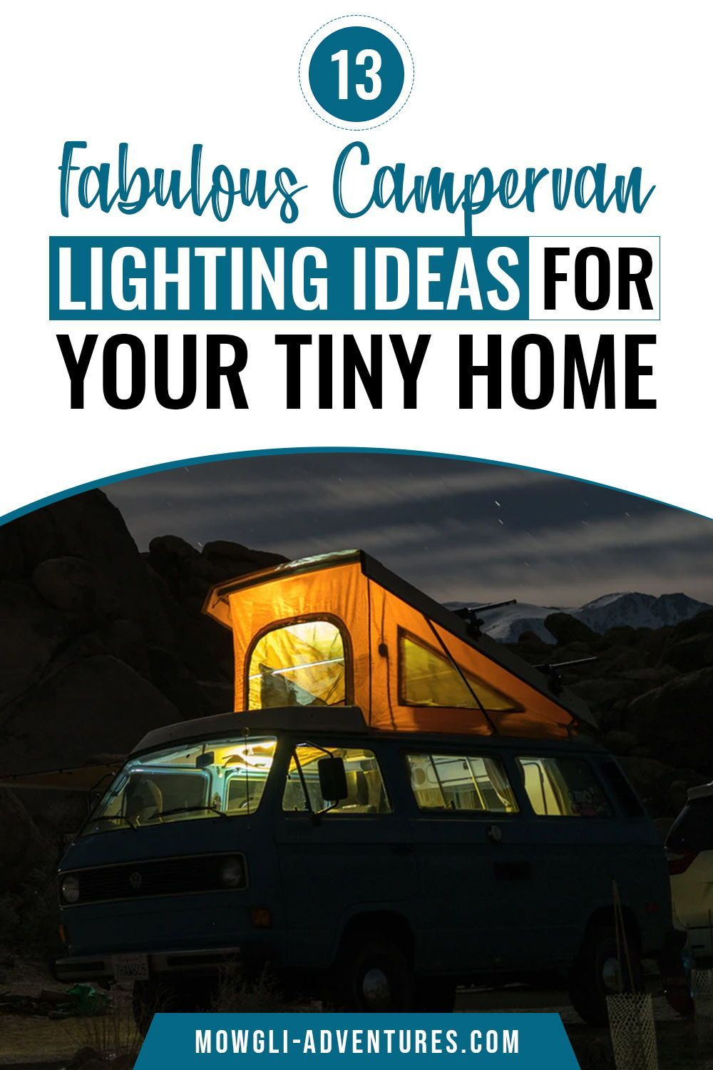 The Best Camper Van Lighting Ideas for your Conversion