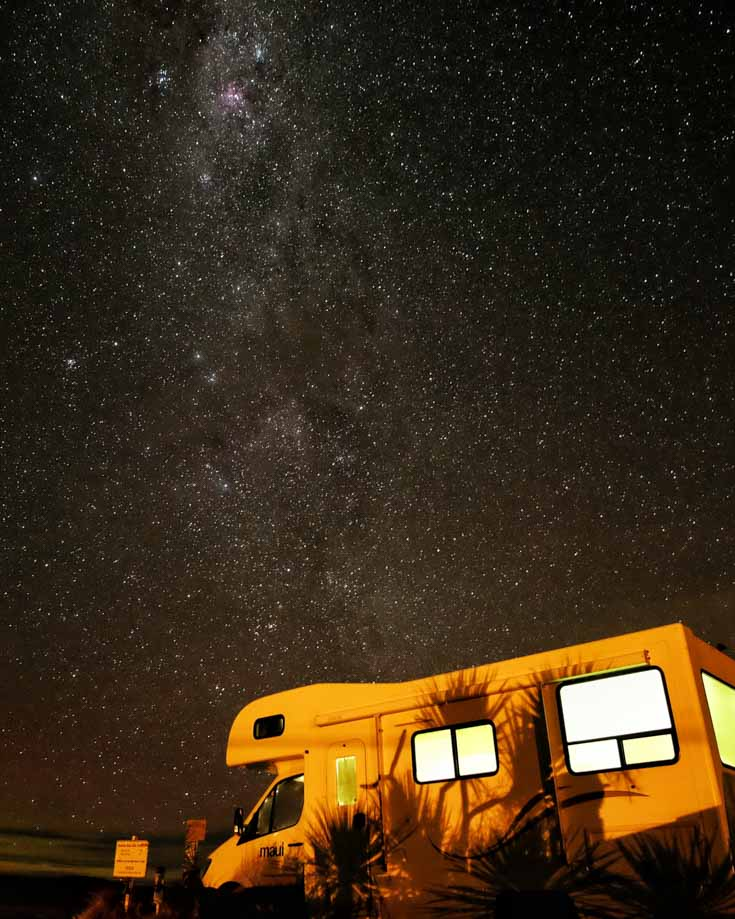 camper van lighting ideas