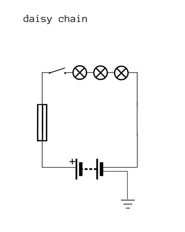 daisy chain wiring diagram