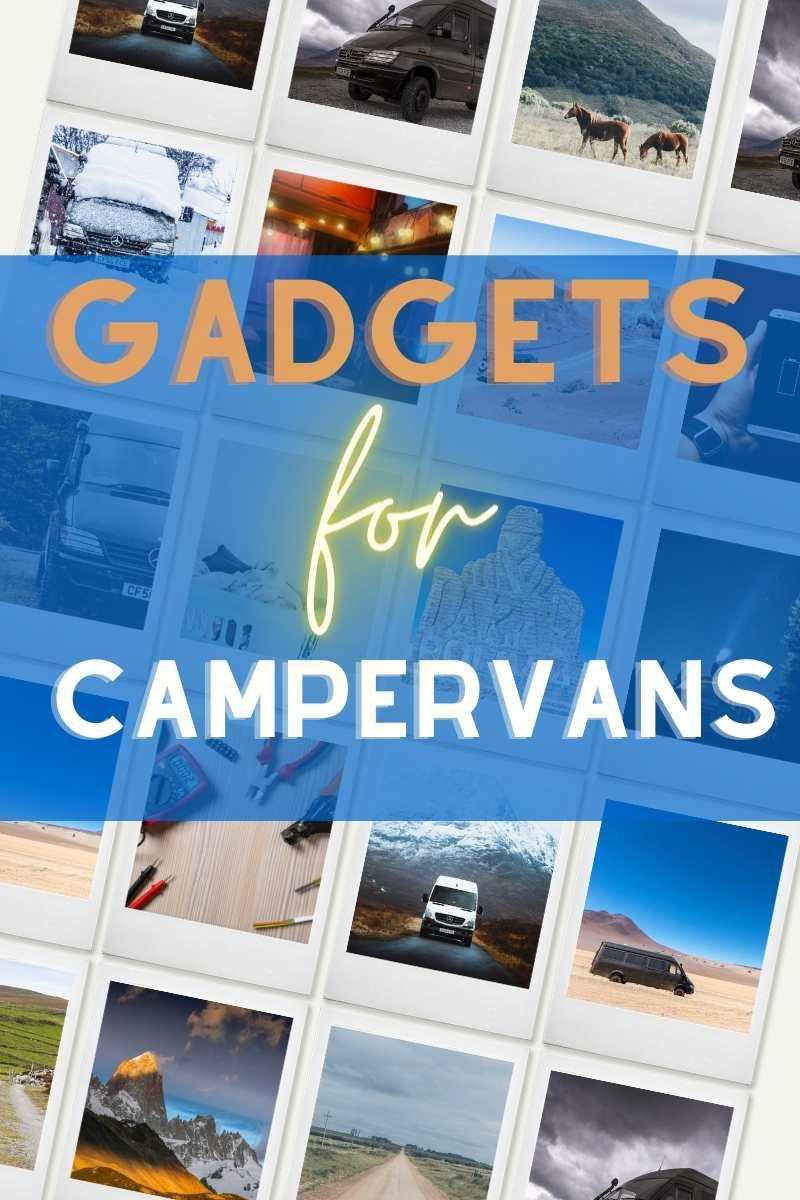 gadgets for campervan on Pinterest