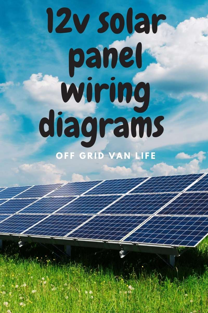 12v solar panel wiring diagrams for pinterest