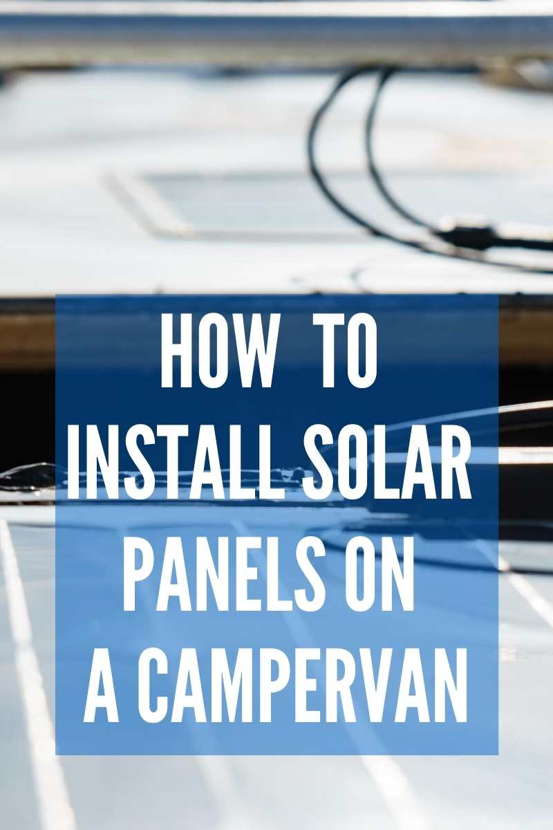 How to Install Solar Panels on RV pinterest image