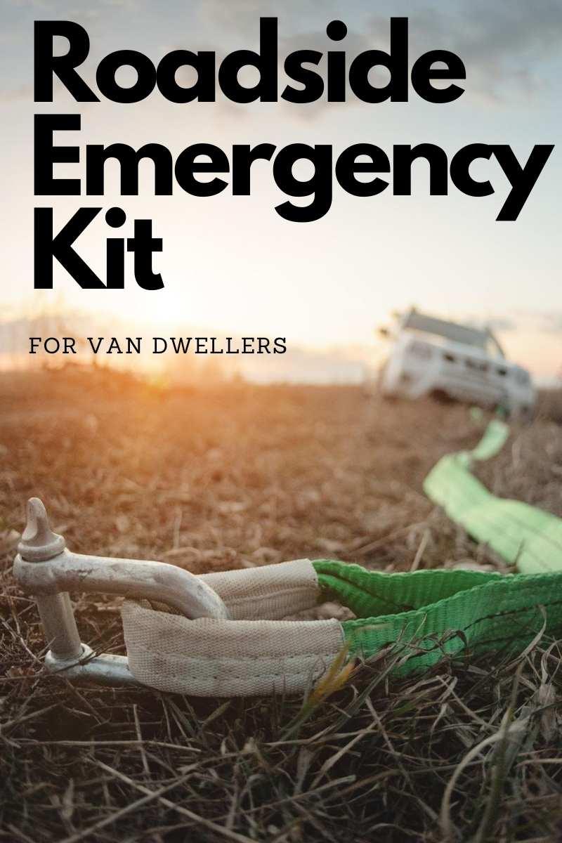Pin image Roadside Emergency Kit for RVs and campervans