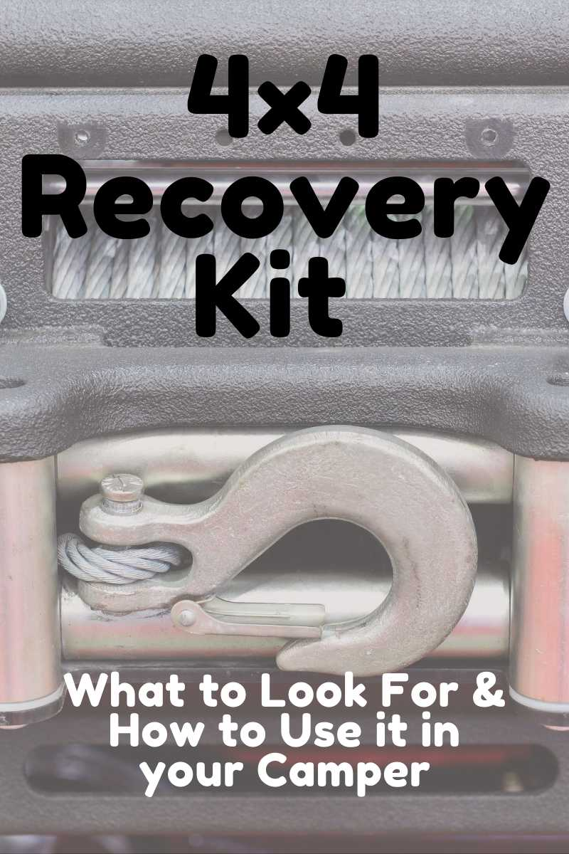 Pin image for 4x4 Recovery Kit