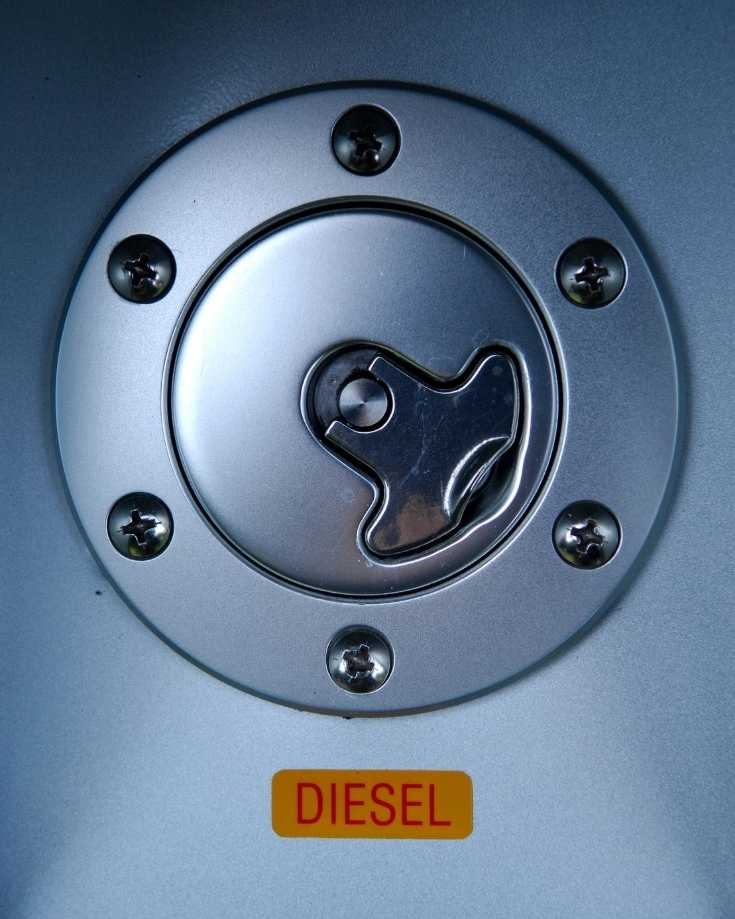 Diesel tank refill