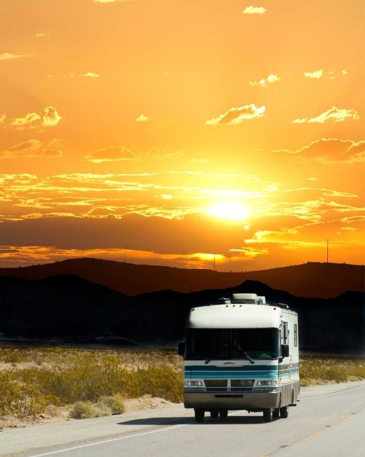 An RV in summer doesn't need a heating system