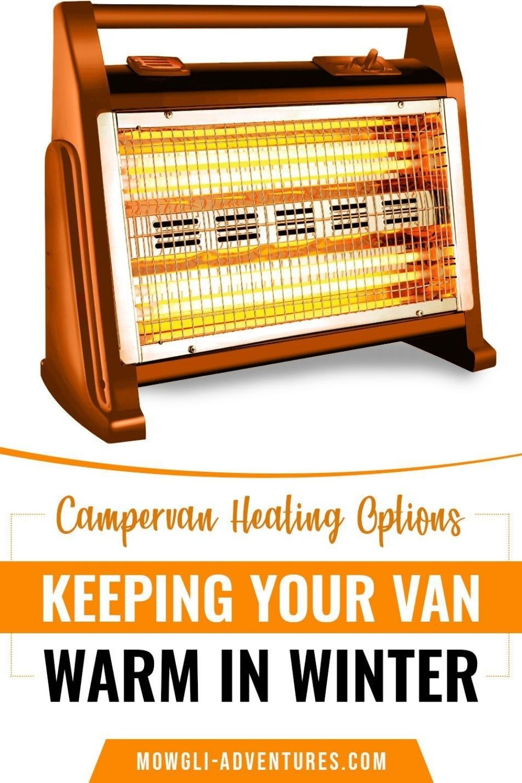 campervan heating options for winter rv living on pinterest