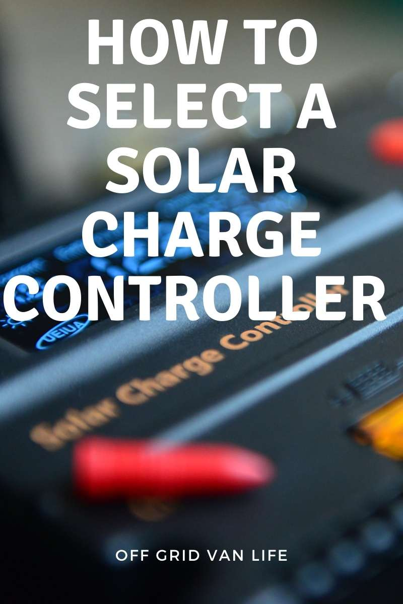 Pin image for Solar charge controllers for RVs & Campervan Conversions