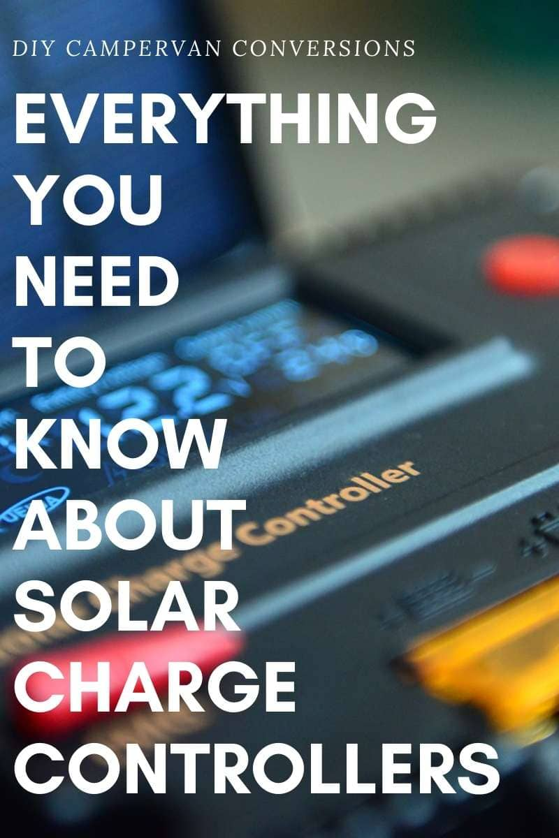 Pin image for solar charge controllers for RVs