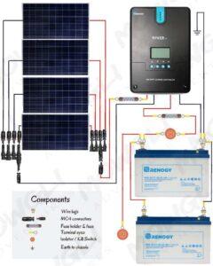 800 watt solar panel wiring diagram in parallel