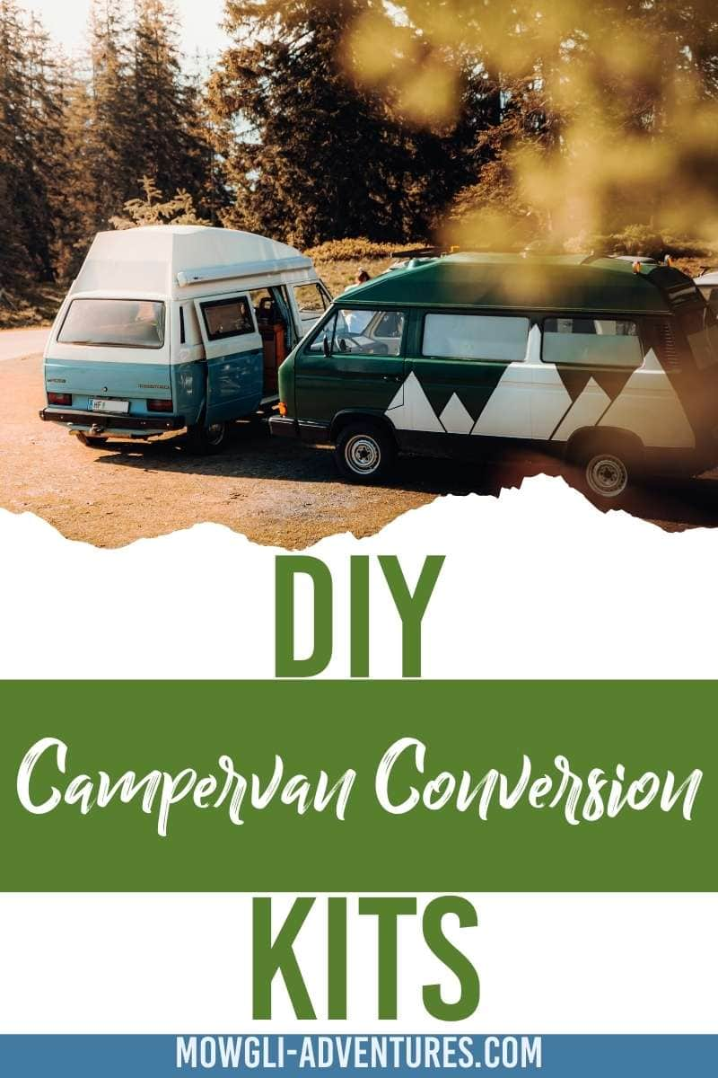 DIY Campervan Conversion Kits for Pinterest