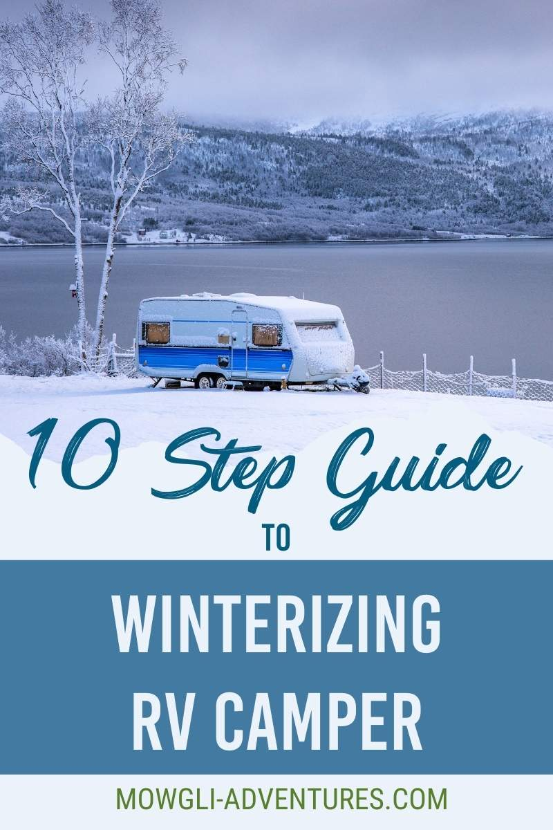 How to Winterize a Camper for Pinterest
