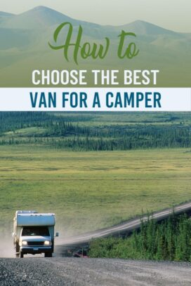 How to choose the best van for a camper