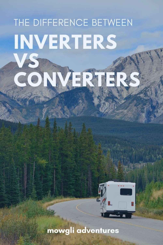 RV inverters vs converters