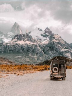 4x4 van in Patagonia