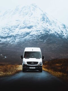 Driving the North Coast 500 in a Motorhome