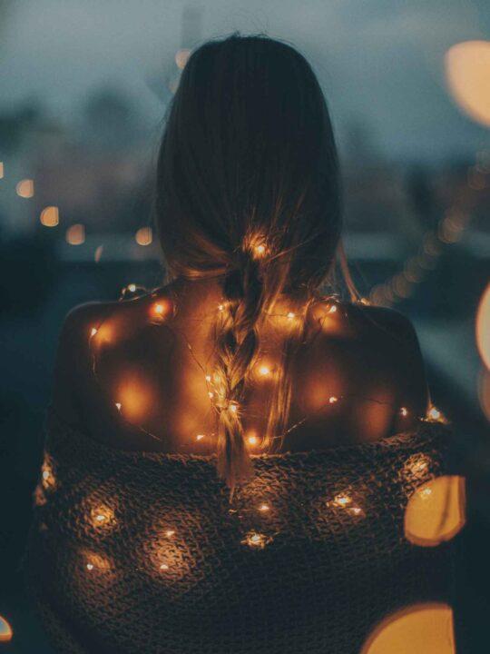 cosy looking camper lights