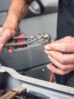 Create you camper van electrics kit parts list