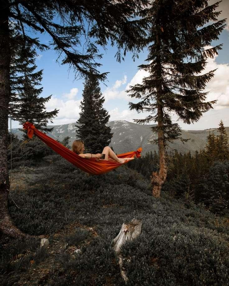 Traditional hammocks can damage trees