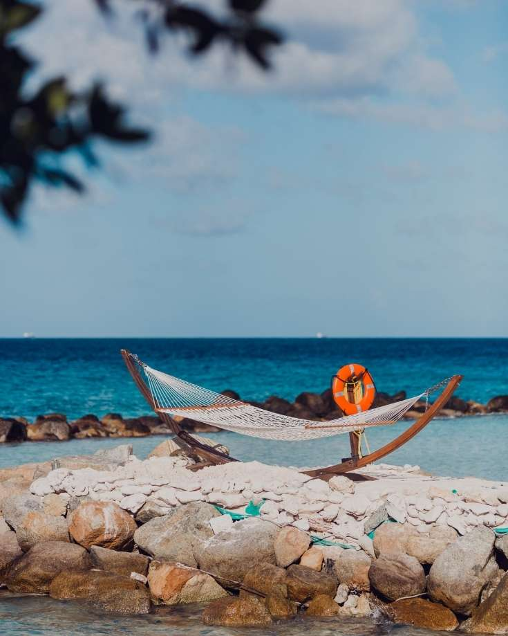 portable standing hammocks are kind to the environment and can be put up anywehere