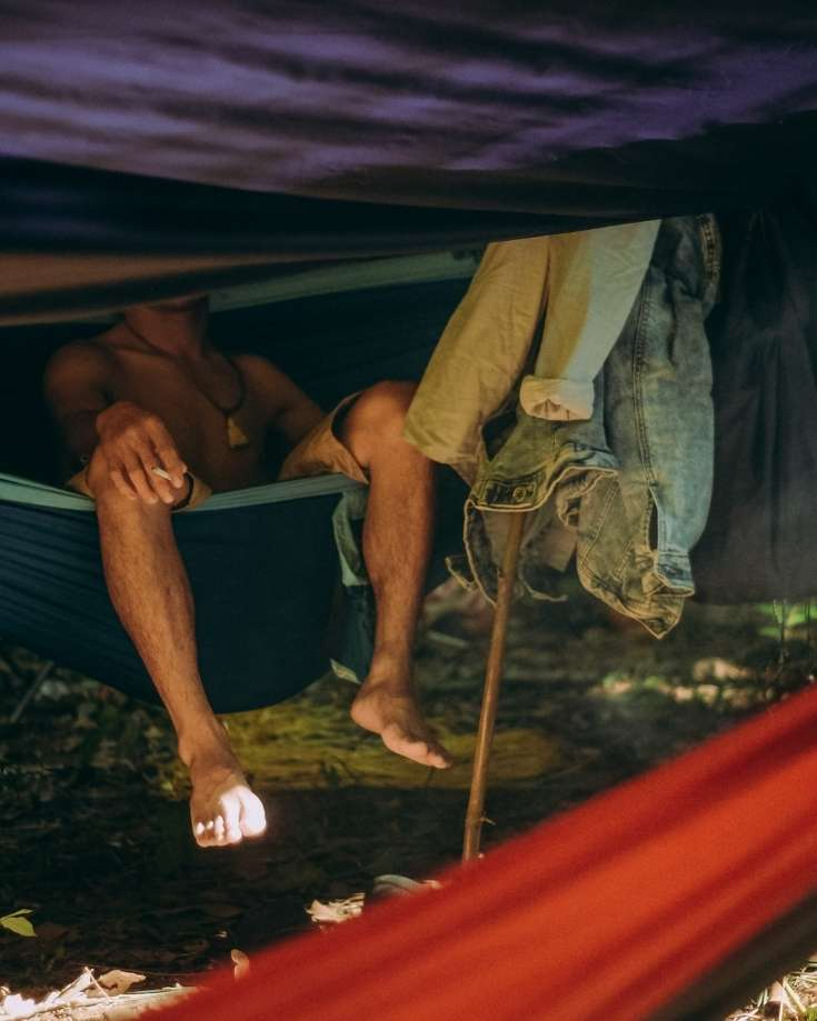 hammock camping is becoming increasing popular adn hammocks stands are an ideal way to do it anywhere