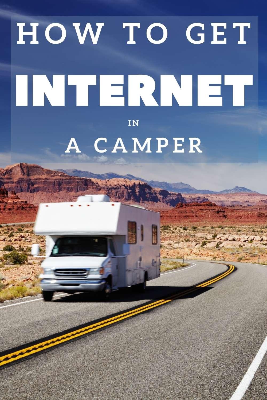 RV wifi - How to get internet in a camper - campervan wifi