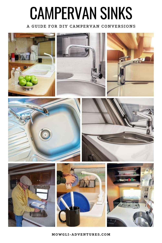 campervan sinks for rvs and van conversions