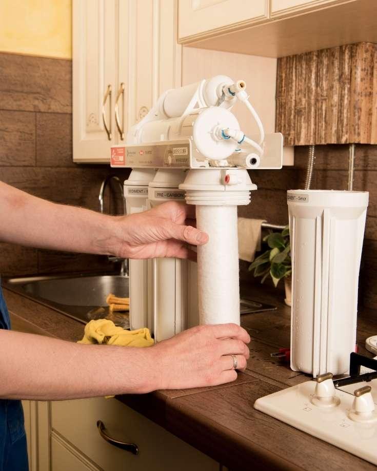 campervan water filter