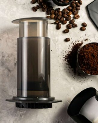 Aeropress is the best camping coffee maker