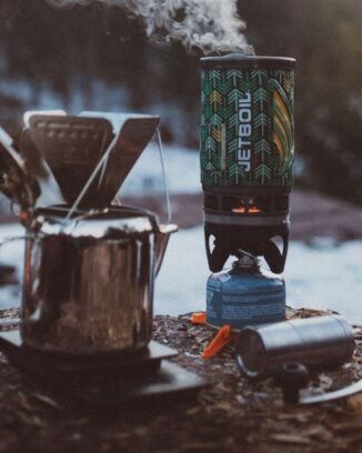Jetboil camp stoves are compact and ideal for solo camping