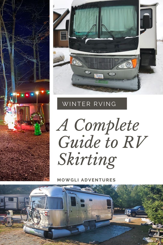 RV Skirting for winter RVing